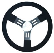 "15"" Aluminium Steering Wheel - Dished"